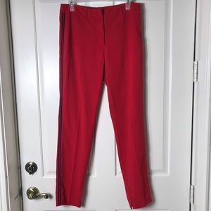 Tahari Women's Pants Red AUTHENTIC